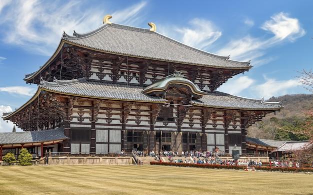 Todai ji great eastern temple wooden temple world heritage site landmark of nara japan