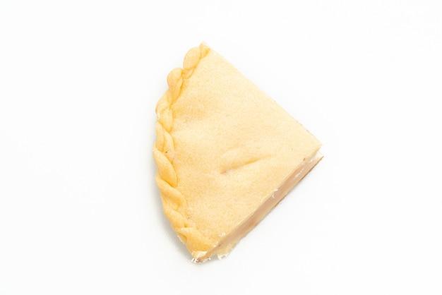 Тодди пальмовые пироги, изолированные на белом фоне