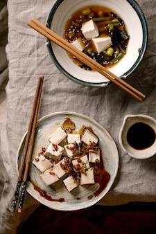 Суп мисо тофу