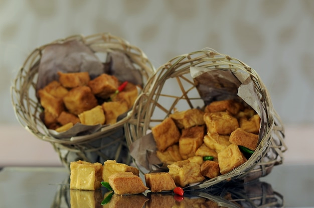 Tofu tahu an indonesian traditional food