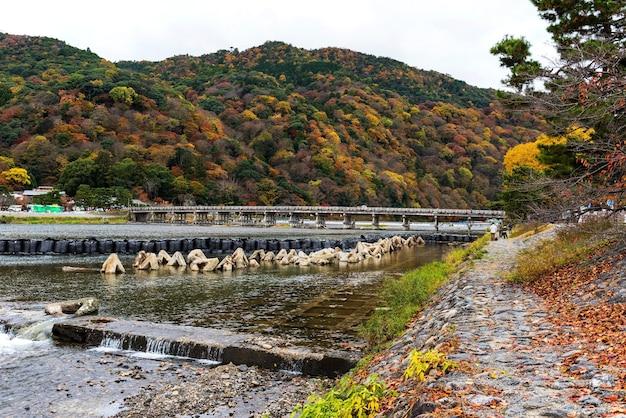 Togetsukyo bridge at autumn, arashiyama