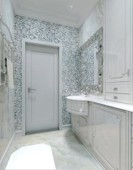 Туалет в стиле ампир