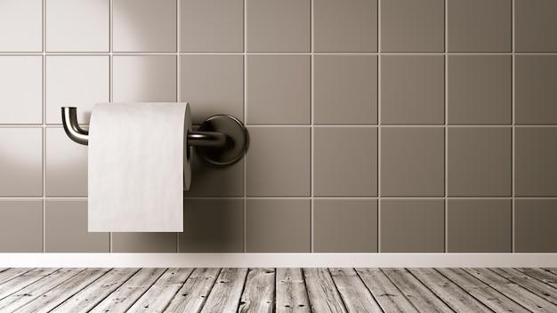 Туалетная бумага в ванной