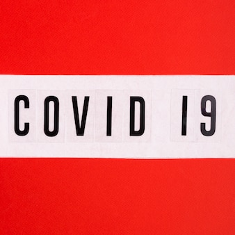 Toilet paper with covid 19
