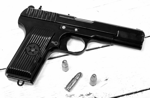 Tokarev pistol used by the red army