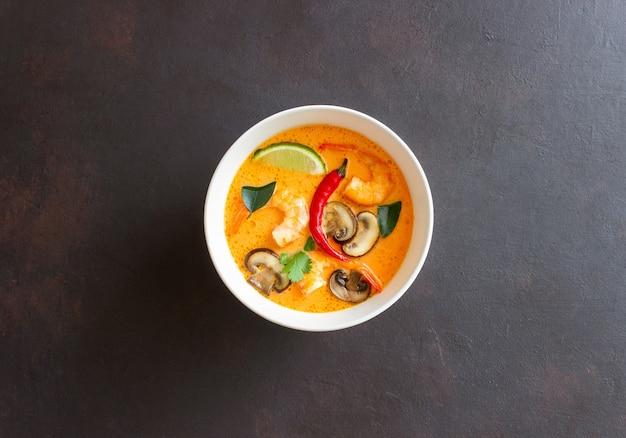 Tom yum soup. thai cuisine. healthy eating. recipes national cuisine