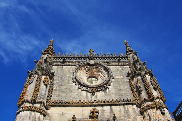Tomar castle of templar knights, portugal