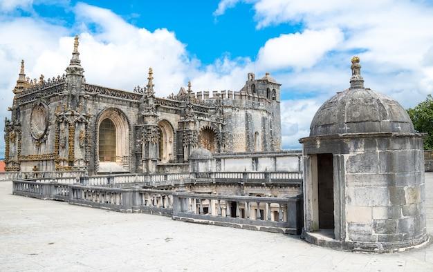 Tomarのテンプル騎士団(キリストの修道院)。ポルトガル