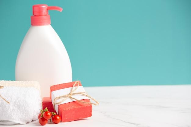 Tomato lotion body skin care