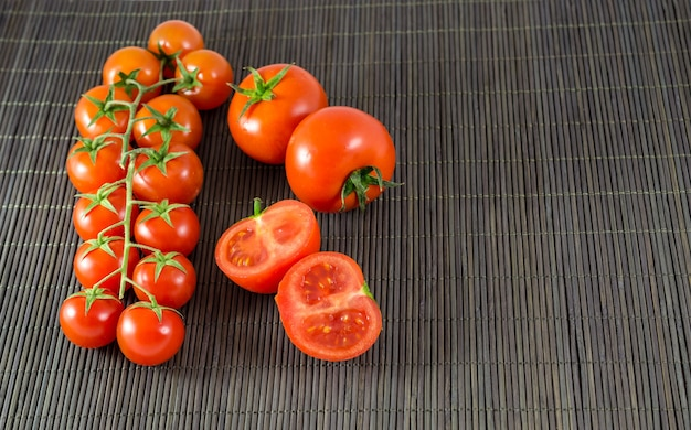 Tomatoes and cherry tomatoes