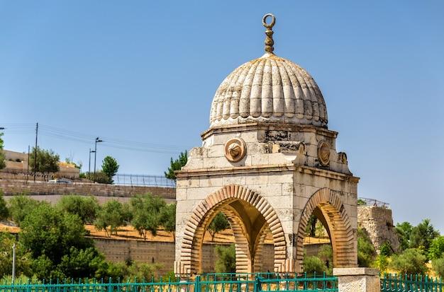 Tomb of mujir al-din in jerusalem, israel