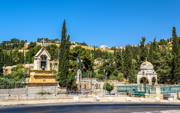 Tomb of the virgin mary in jerusalem - israel