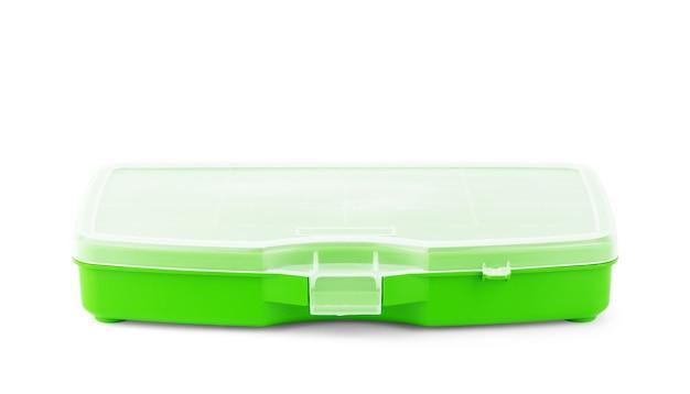 Ящик для инструментов, изолированные на белом фоне
