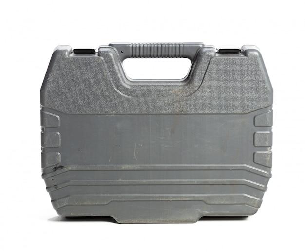 白い背景で隔離のツールキットボックス