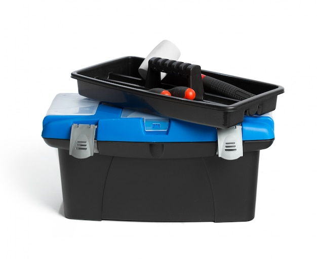 Toolkit box isolated