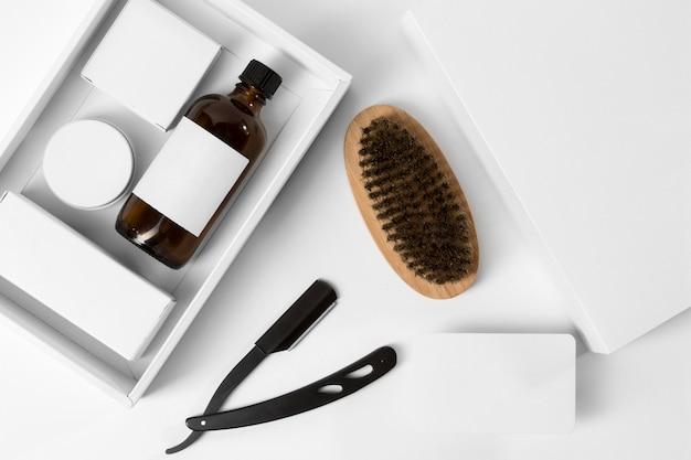 Tools for grooming beard bundle