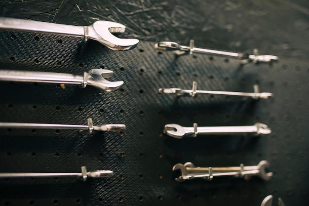 Tools of a repairing shop