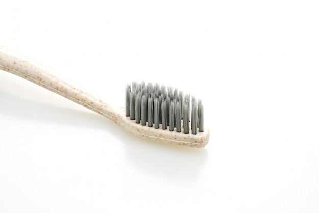 Tooth brush on white
