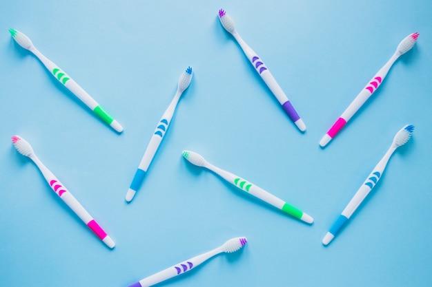 Composizione dello spazzolino da denti