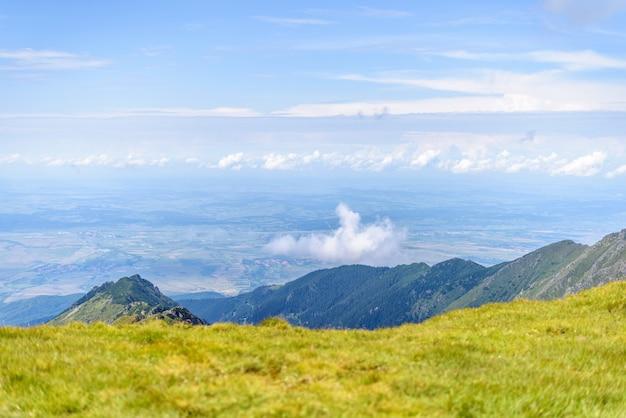 Вершина горы фагарас
