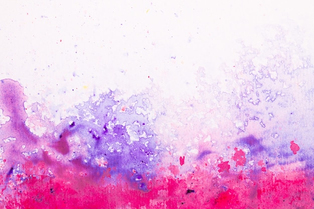 Вид сверху абстрактные красочные краски фоновой текстуры