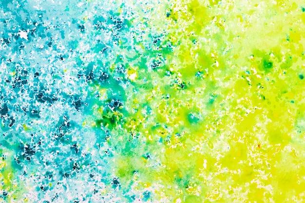 상위 뷰 추상 화려한 페인트 배경 질감