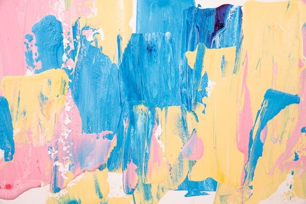 上面図アクリル絵の具の背景