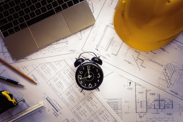 Top view architect tools