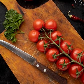 おいしいフレッシュトマトの平面図配置