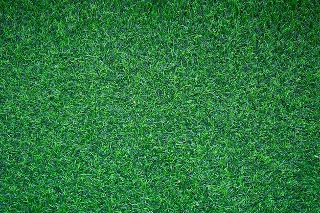 Вид сверху искусственный зеленый трава для фона
