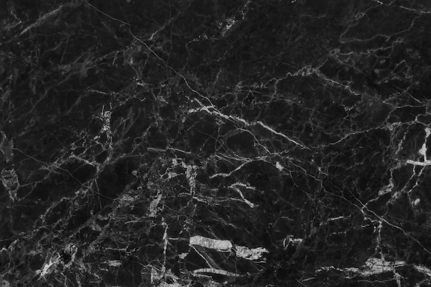 Top-view of black grey marble texture background, natural tile stone floor