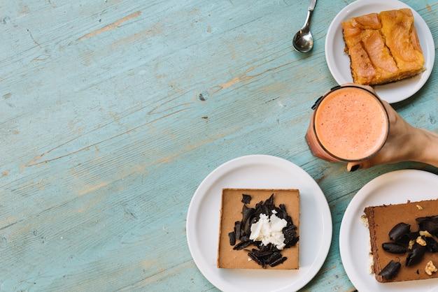 Вид на завтрак