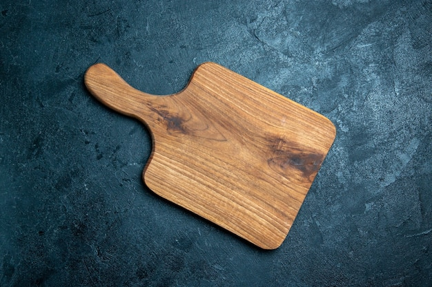 トップビュー茶色の木製デスク 無料写真