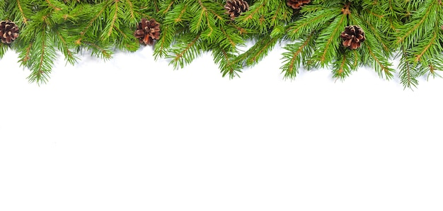 上面図のクリスマスの装飾