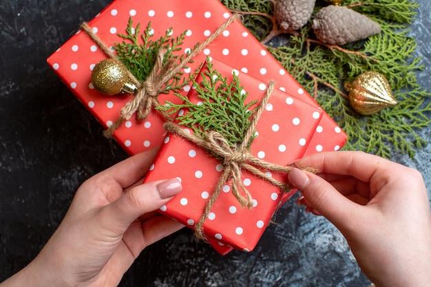 上面図クリスマスプレゼント