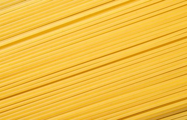 Top view, closeup of spaghetti pasta. food backdrop.