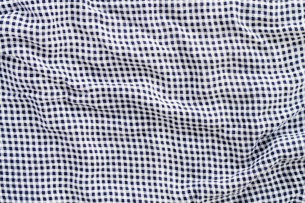 Top view of cloth
