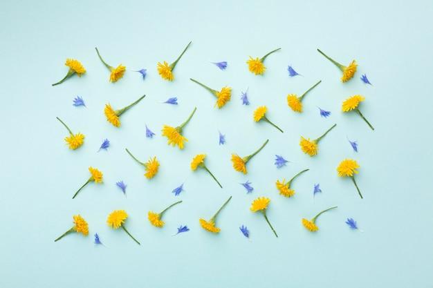 꽃의 상위 뷰 구성