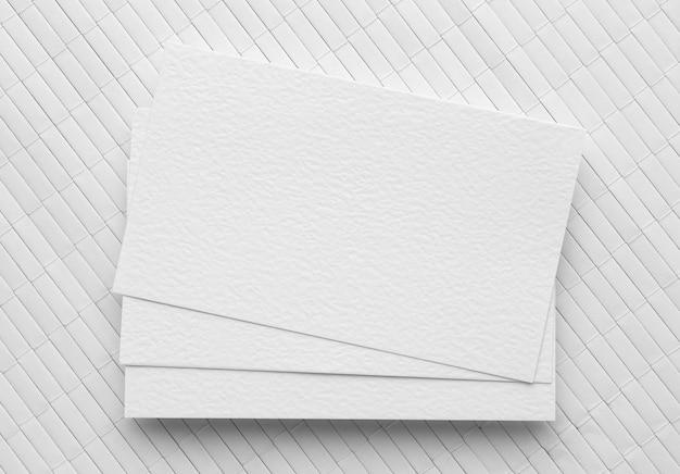 Визитные карточки с копией пространства
