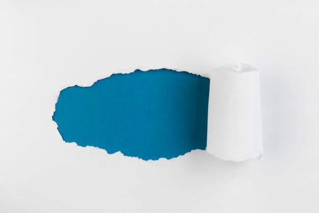 上面図崩れた紙