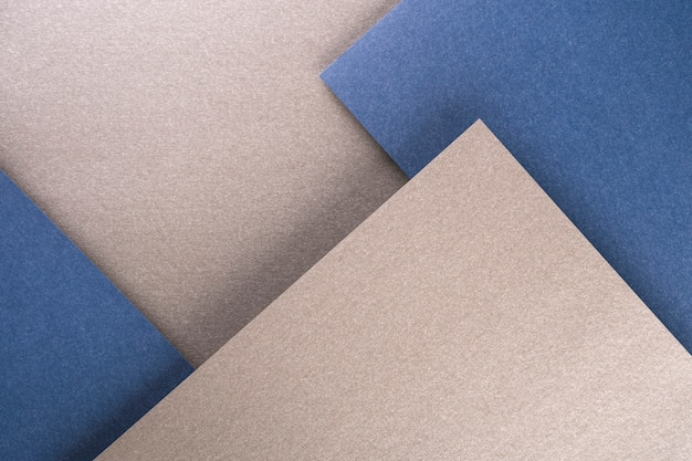Top view of different paper sheets