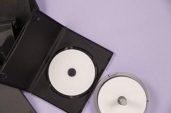 Музыкальный набор DVD с видом сверху