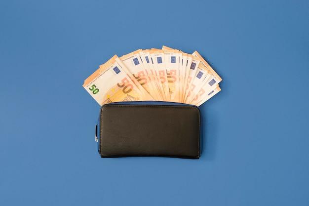 Top view of economy concept Premium Photo