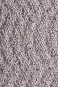 Vista dall'alto della trama del tessuto