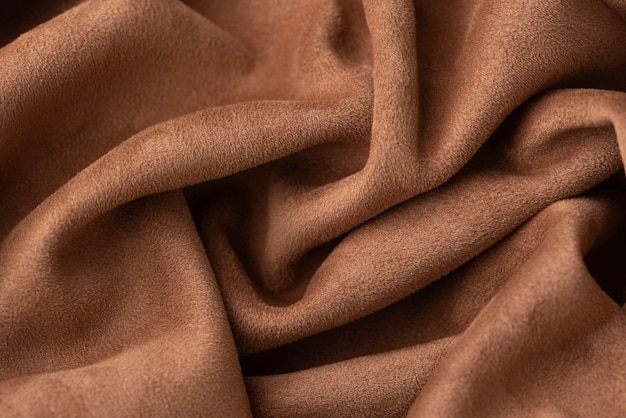 Top view of fabric texture