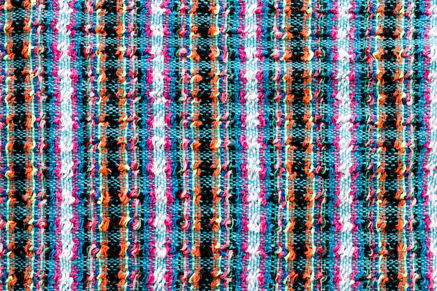 Top view of fabric