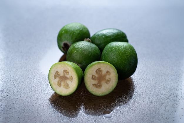 上面図フェイジョアの果実