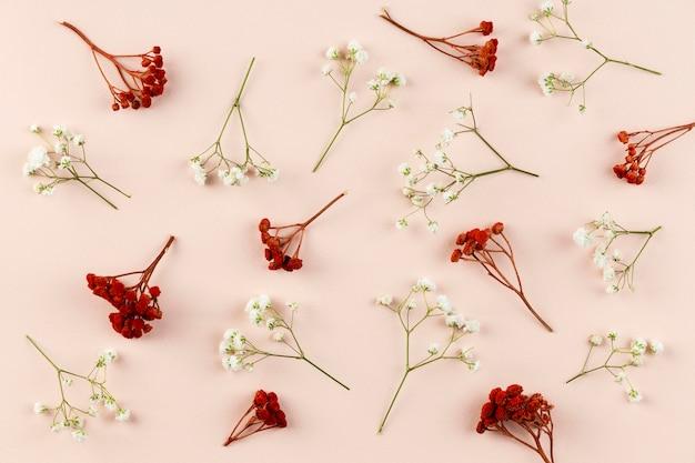 상위 뷰 꽃 모음