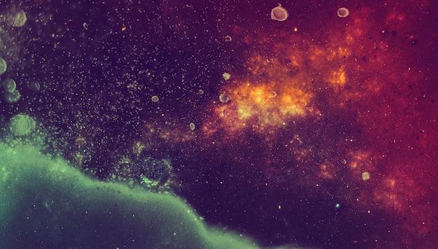 상위 뷰 은하 공간