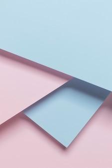 Геометрические шкафы сверху